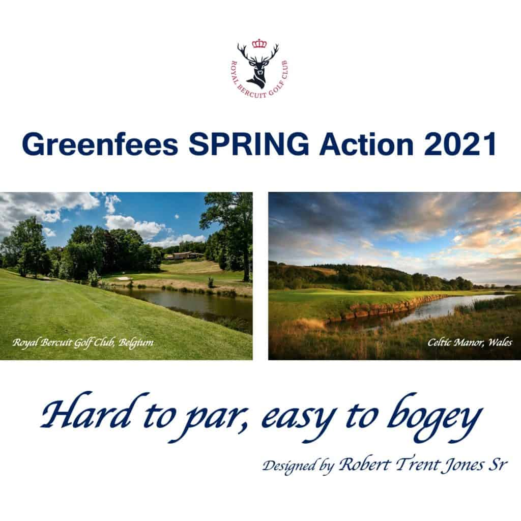 Greenfees Spring Action